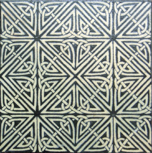 Celtic Knot Tile 8""