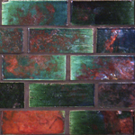 "Raku Subway Tile  3"" x 8"""