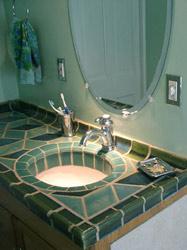 Lillia's Hand-made Tile Bath