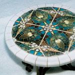 Lou & Dawn's Mosaic Table