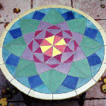 Famicos Foundation Lotus Tile Table