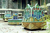 Courtyard at Notre Dame Academy, 2001