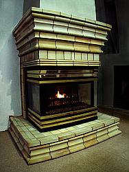 Stoneware Fireplace, 2000