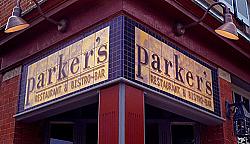 Parker's Restaurant and Bistro-Bar Sign, 1998