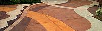 Etched Concrete Plaza