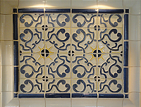 "Campania Inspired Cuenca 6"" tile"